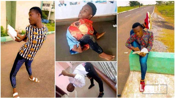 Meet Okechukwu, a Nigerian medical student with a rare flexible body