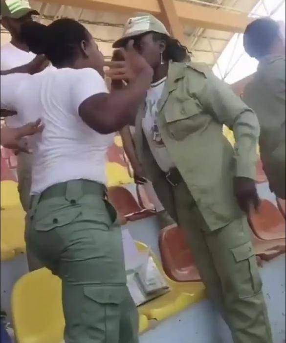 Female Corps Members Fight Over Seniority in Ekiti state