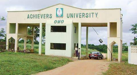 Achievers University update on resumption of academic activities