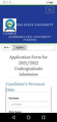Edo State University Post-UTME 2021: Eligibility And Registration Details