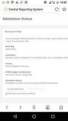 MAUTECH admission list, 2020/2021 out on JAMB CAPS