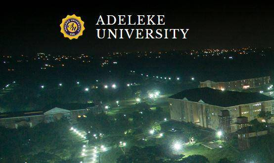 Adeleke University (AU) School Fees Schedule for 2019/2020 Academic Session