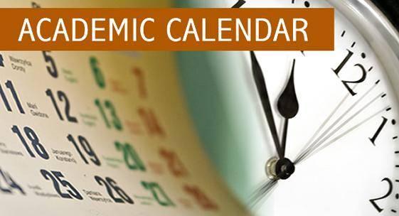 FUOYE Academic Calendar, 2018/2019 Out