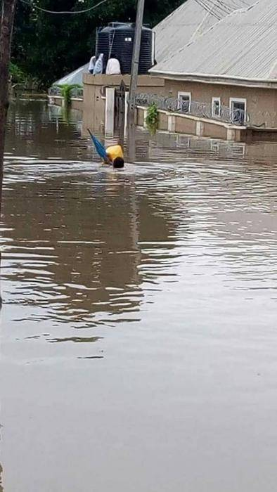 NDU Students' Hostels Flooded