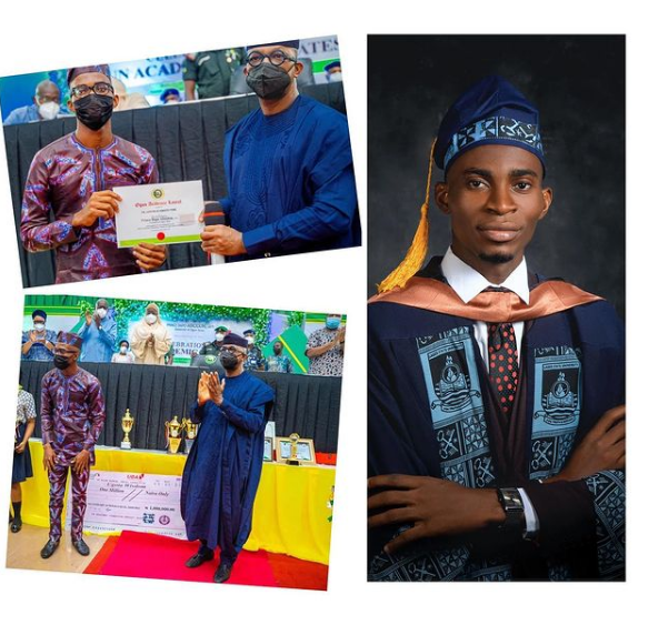 Ogun state governor gifts LASU best graduating student a house and N2 million