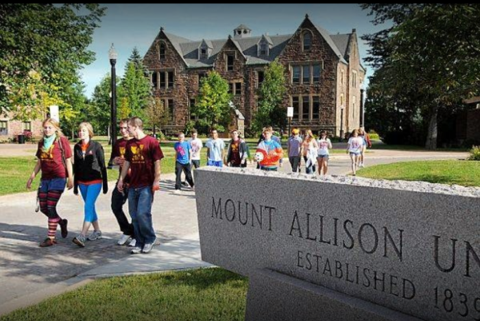 2020 International Award at Mount Allison University - Canada