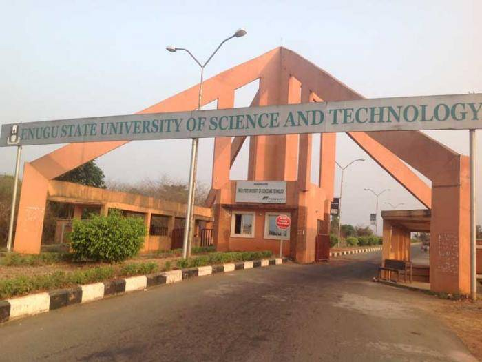 ESUT Supplementary Admission Form For 2019/2020 Session