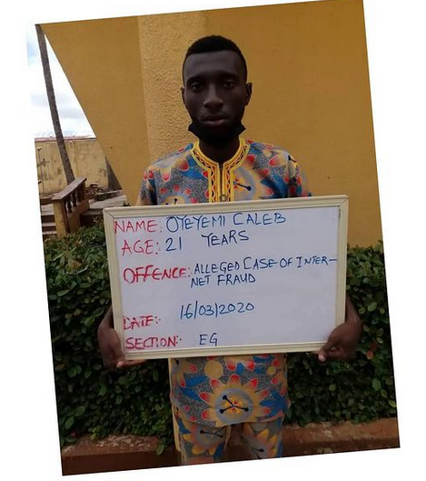 Corps member handed 2 years jail term for internet scam