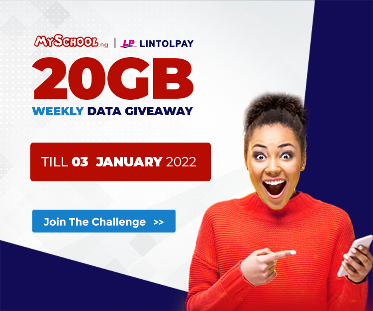We're giving 20GB data every week till 2022