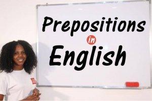 Prepositions - Word Class - English Grammar - Basics to Advanced