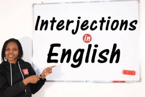 Interjections - Word Class - English Grammar
